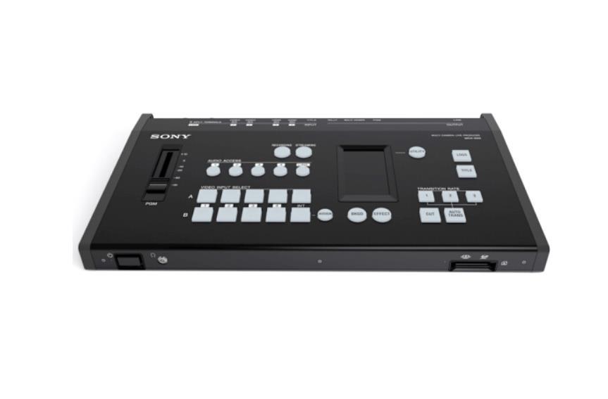 索尼/sony MCX-500多机位现场直播切换台4路进直播导播台系统字幕