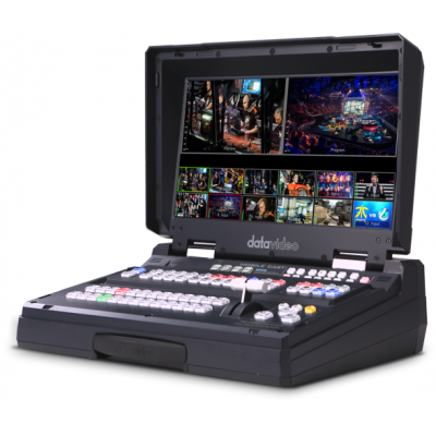 HS-3200 HD 12通道便携式移动录播演播室