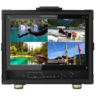 4路3G-SDI 桌面式多画面4K监视器