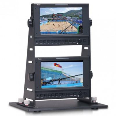 双联户外高亮全接口摇臂监视器TL-P700HD