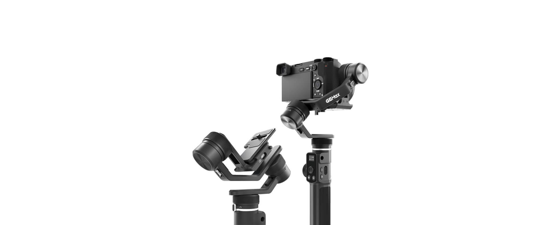 飞宇G6MAX多用稳定器微单手机运动相机防抖拍摄手持云台vlog
