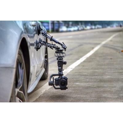 XP-02多功能车载吸盘三脚架 汽车拍摄吸盘 车戏摄像 车摄影