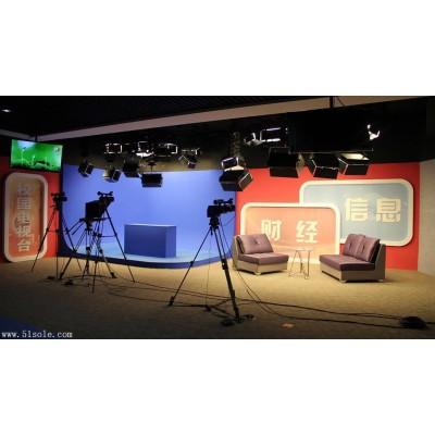校园虚拟演播室电视台搭建