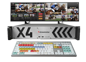 Streamstar X4机架式在线制播产品