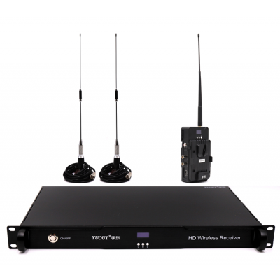 HDMI SDI无线图传1km~2km非视距无线图传单兵图传
