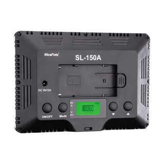 耐思 LED摄影灯SL-150A-拍摄室内人像灯光-常亮灯柔光灯-婚庆摄影灯-单反相机外拍灯-拍照补光灯