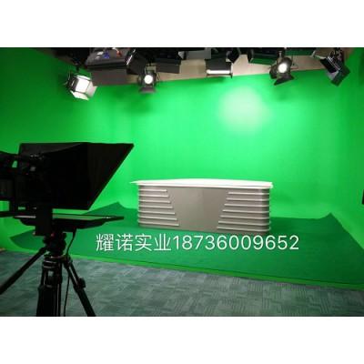 虚拟演播室建设 蓝箱制作设计 融媒体演播室灯光布置