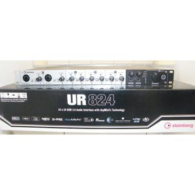 Yamaha/雅马哈 Steinberg UR824 8进8出USB音频接口-编曲录音声卡