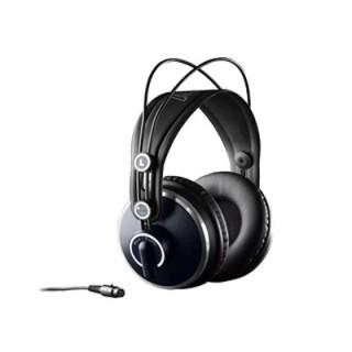 AKG K271 MKII头戴封闭式监听耳机专业录音师棚级HIFI高保真歌手直播K歌耳机 全封闭
