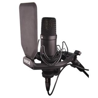 RODE罗德 NT1KIT大振膜人声专业录音K歌网红推荐直播话筒麦克风