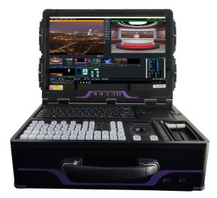 直播一体机 基于IP\NDI 支持 4K UH导播切换一体机