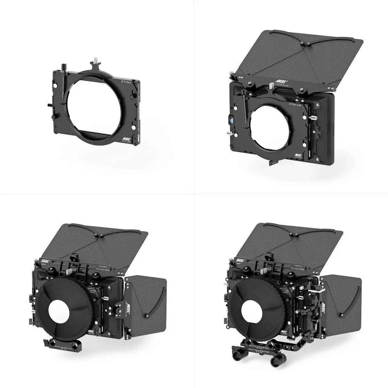 ARRI新款轻型遮光斗LMB 4x5 New Lightweight Matte Box