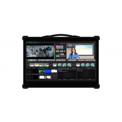 TC 280虚拟演播一体机 高清录播导播直播 绿布扣像系统 3D虚拟新闻发布会