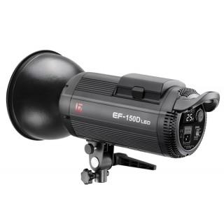 金贝LED摄影灯EF-150W常亮补光灯直播间摄像柔光-手机美颜打光太阳灯