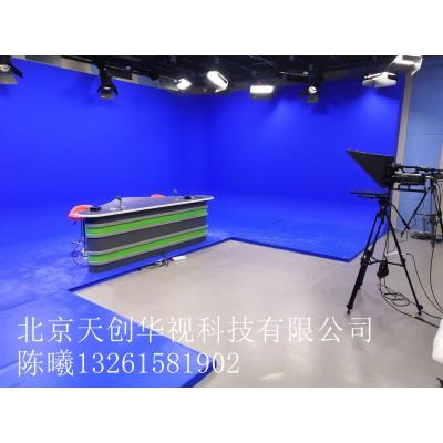 简易虚拟直播间 4K真三维3D演播室设备