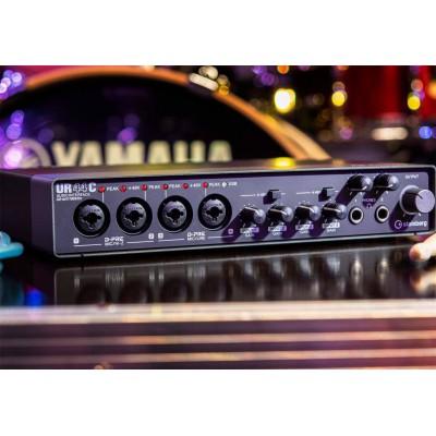 YAMAHA/雅马哈 UR44C专业录音编曲混音直播配音K歌外置usb3.0声卡