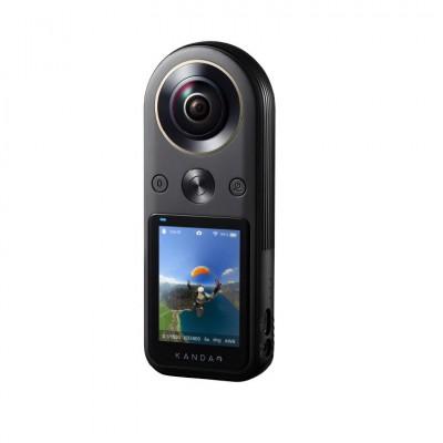 KanDao 看到 QooCam 8K口袋全景相机 Vlog运动相机