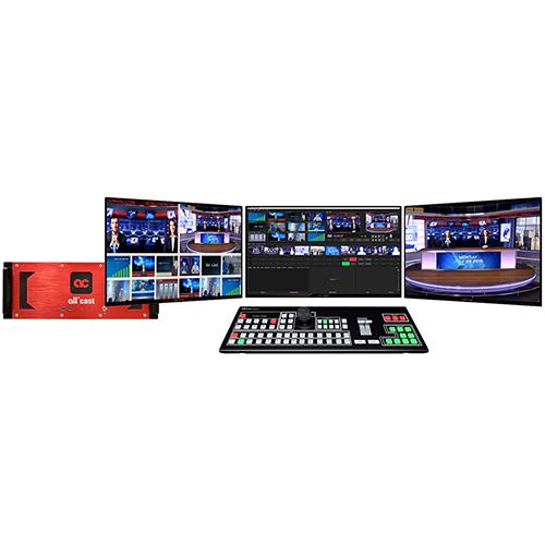 Allcas4K超高清真三维虚拟演播室