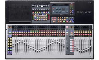PreSonus StudioLive 32S 32通道数字调音台-带电动推子的USB声卡
