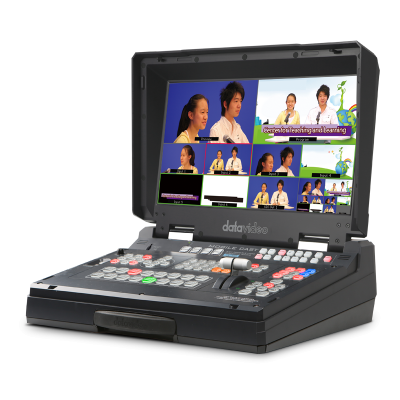 洋铭HS-1300便携式6通道移动虚拟演播室 6通道导播台录像直播