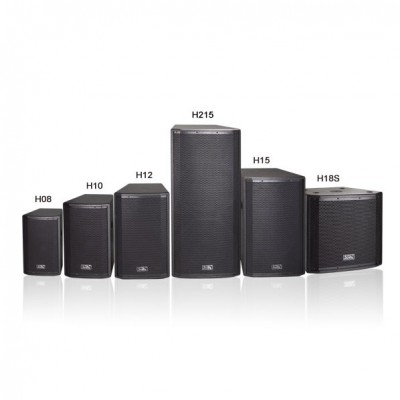 H08/H10/H12/H15工程音箱主扩扬声器