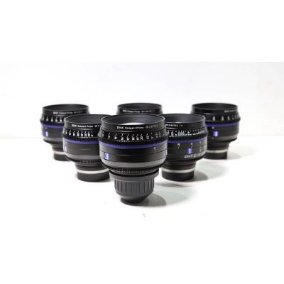蔡司Zeiss Compact Prime CP3系列电影镜头EF口和PL口基本组包邮