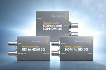 ATEM Mini用户必看:新款Micro Converter 3G转换器发布!