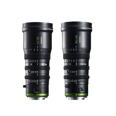 富士 FUJINON MK18-55mm 50-135mm T2.9 FS7M2 FS7电影变焦镜头
