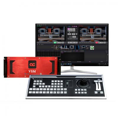 小型4K超高清3D虚拟演播室设备
