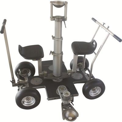 青峰 四轮车 Dolly影视轨道车 汽轮板车 通用欧美GFM标准器材
