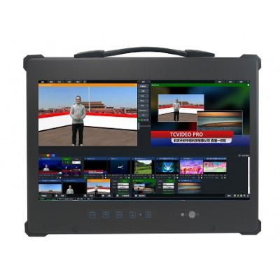 便携式导播录播直播一体机 演播室虚拟抠像设备