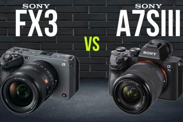 索尼a7S III增加S-Cinetone,与新的FX3基本没啥差距了?