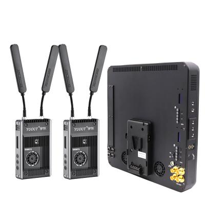 SDI无线图传1拖2 500米/800米无线图传一拖二