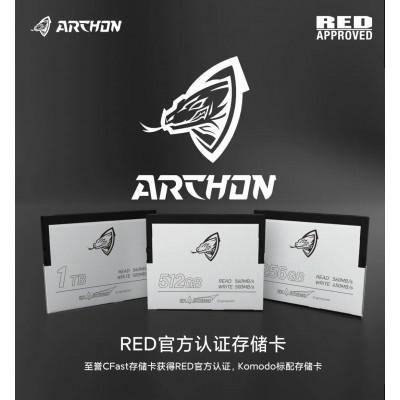 至誉CFAST卡256G/512G/1TB RED数字摄影机官方认证存储卡