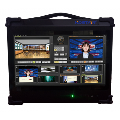 HDStar MVS 4K系列虚拟演播室制播系统一体机