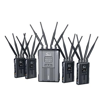 野玛600V4 600米四发一收无线图传 SDI HDMI直播 带TALLY功能