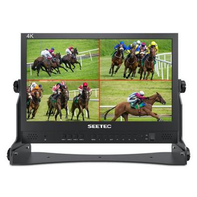 富威德 SEETEC视瑞特 ATEM156 15.6英寸直播广播级导演监视器 4路HDMI输入输出四画面分割 搭配ATEM Mini切换台