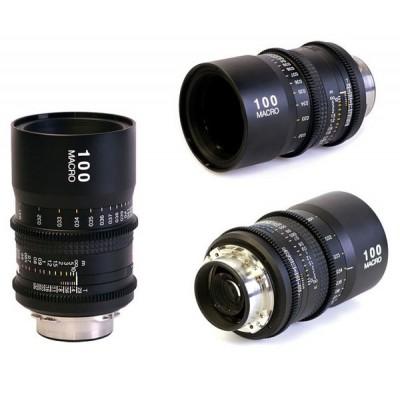 图丽100MM T2.9 微距电影定焦镜头 Macro PL卡口 佳能EF 摄像机
