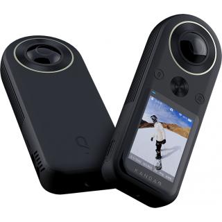 QooCam8K国产360度全景运动相机骑行高清4K防抖滑雪720拍vlog相机
