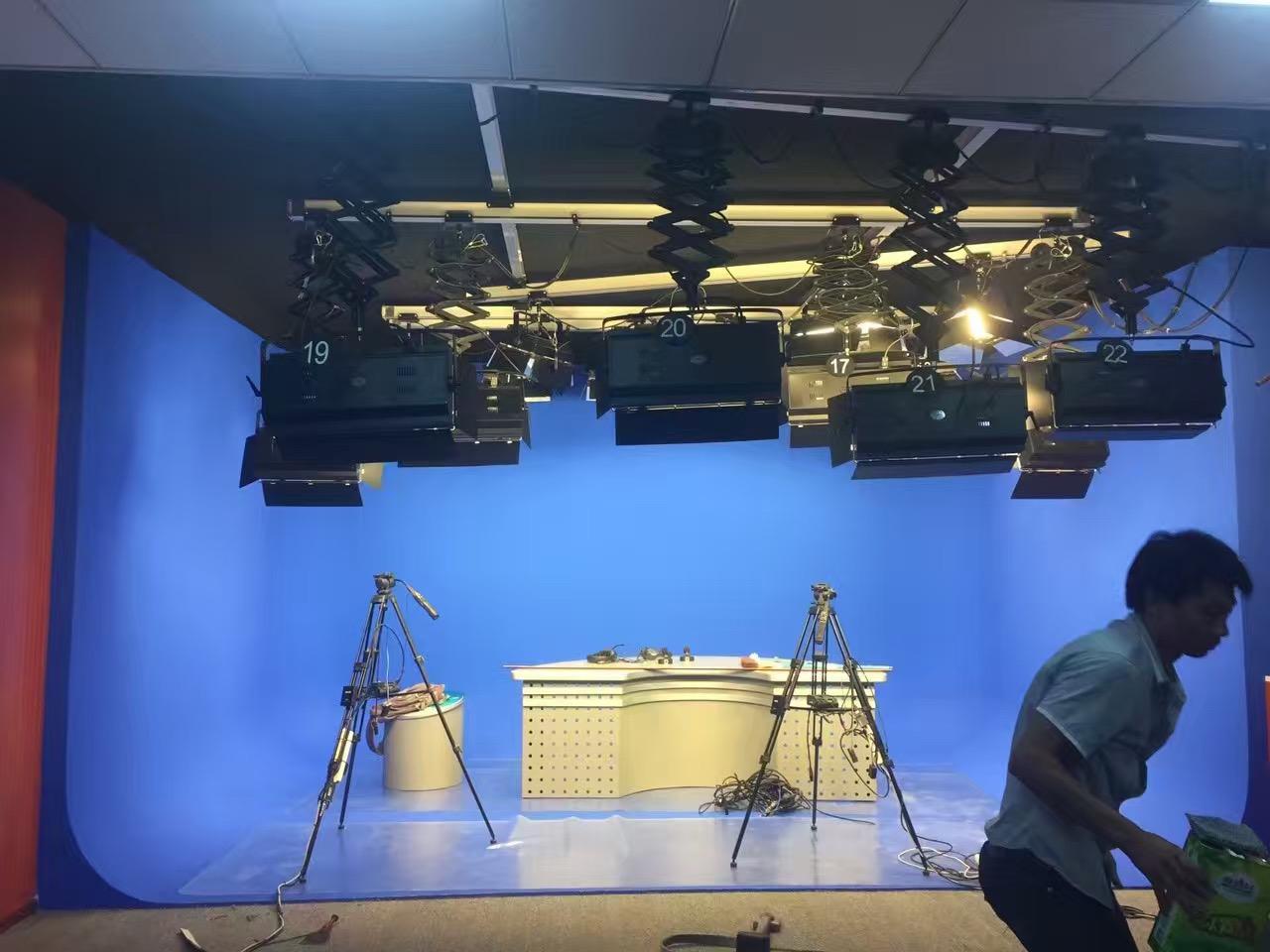 演播室虚拟系统 绿箱蓝箱抠像 网络直播系统