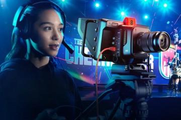Blackmagic 发布多款新品,Studio Camera,新款HyperDeck Studio录机,Web Presenter 4K